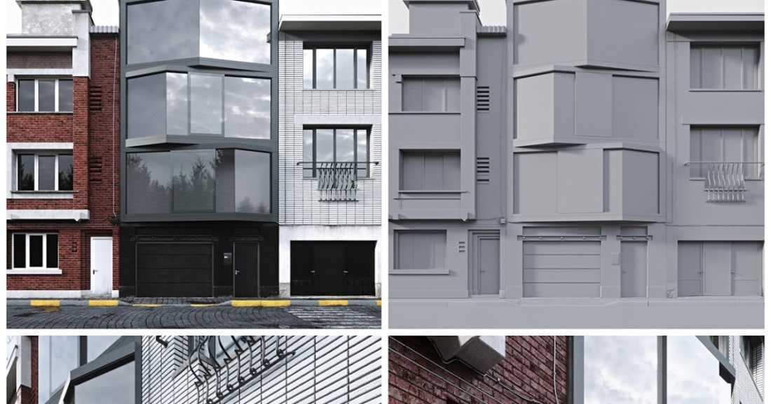 FREE 3D MODELS AND SCENES for VRAY AND CORONA: FREE EXTERIOR